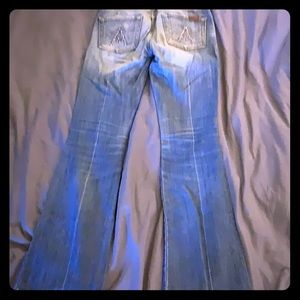 7 For All Mankind jeans with bling back pockets